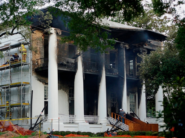 Governors Mansion Fire