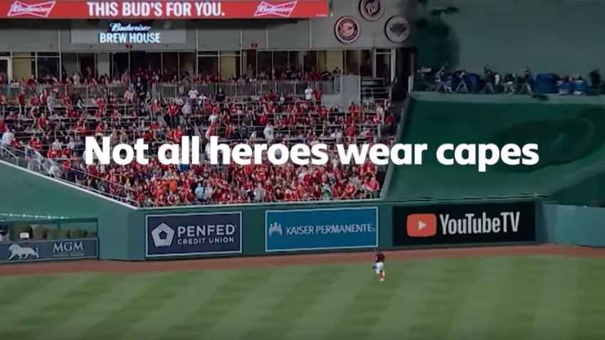 Bud Light Turns Clip Of Nats Fan Who Saved Beers Into Ad