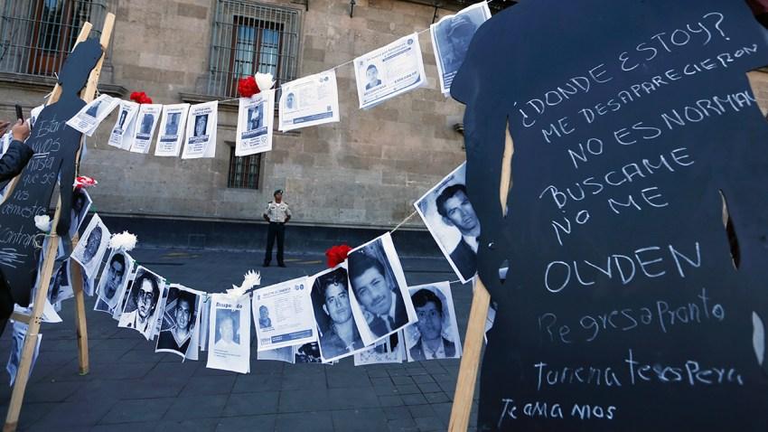 APTOPIX Mexico Disappeared
