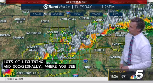 Severe Thunderstorms Move Out Of North Texas Overnight Nbc 5 Dallas Fort Worth