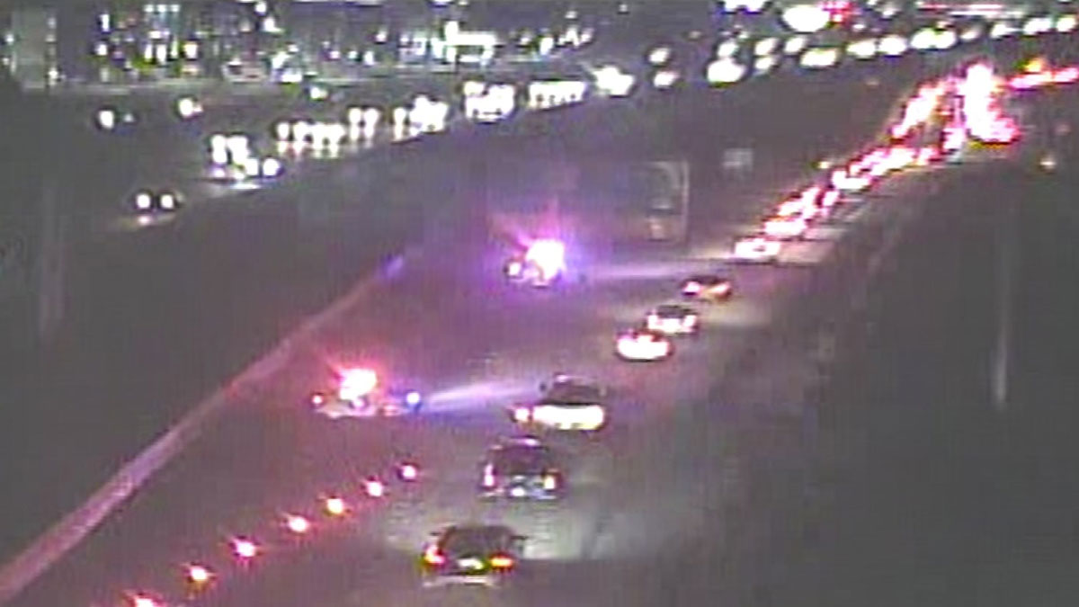 State Highway 121 Closed Due to Crash in Euless