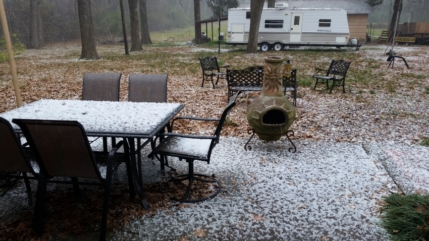 [UGCDFW-CJ-weather]Hail in Greenville