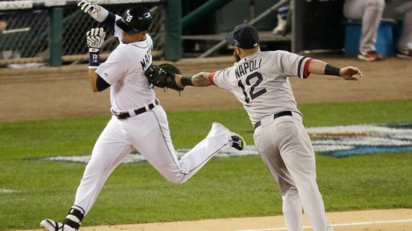 ALCS Red Sox Tigers Baseball