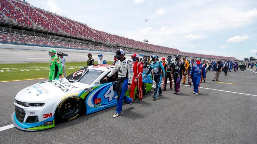NASCAR Kyle Busch, Corey LaJoie