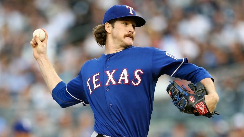 Miles Mikolas Texas Rangers