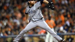 Ian Kennedy pitching
