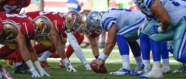 [CSNBY] Top 5 storylines to watch in Cowboys-49ers Week 4 matchup