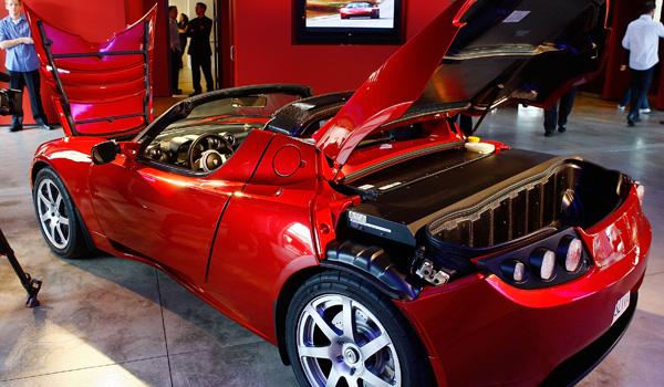 Tesla sports car