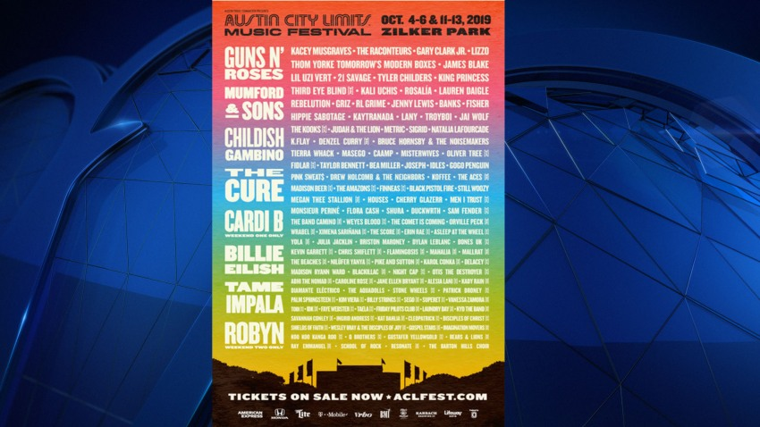 ACL Line UP for Web