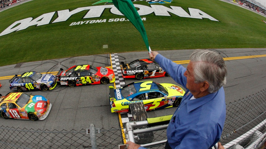 021509 NASCAR Daytona 500 Auto Racing