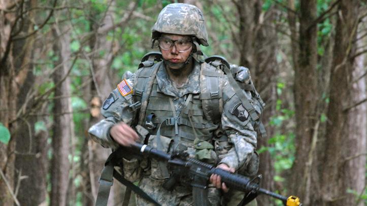 Military Women in Combat