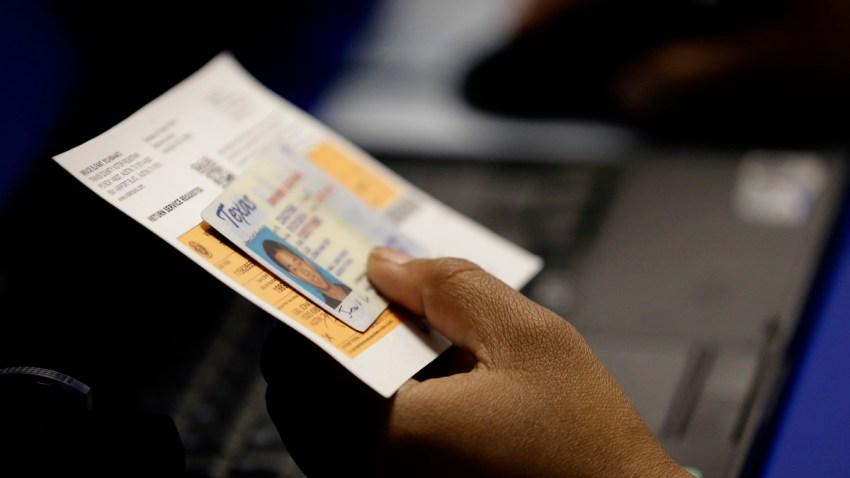 APTOPIX Voter ID Test