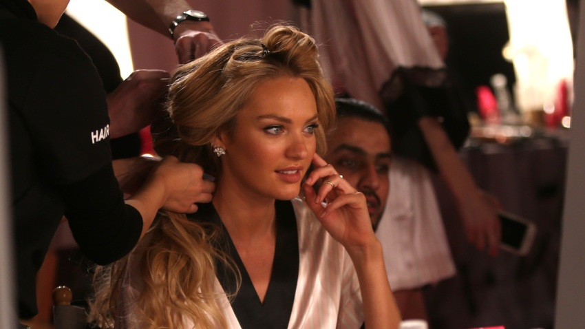Britain Victoria's Secret Backstage