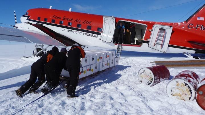 Antarctica Ice Cores