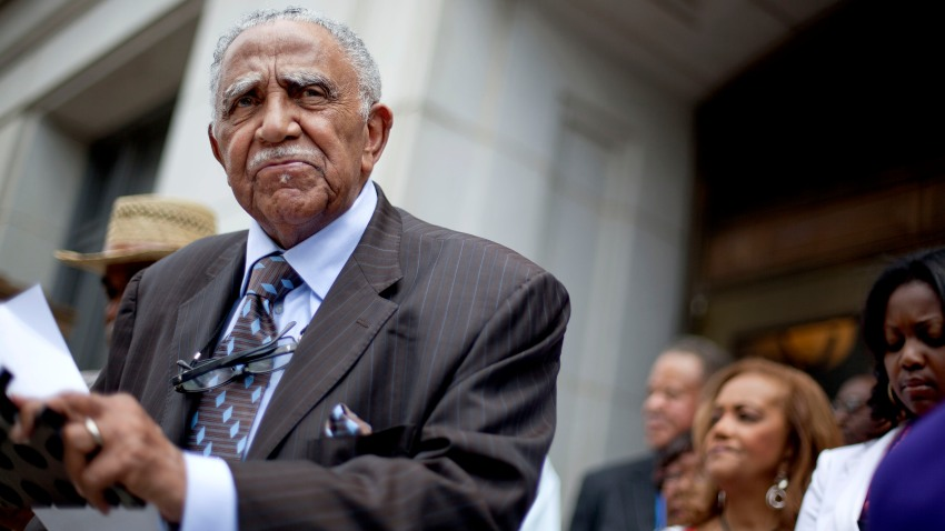 Rev. Joseph Lowery speaks during a press conference