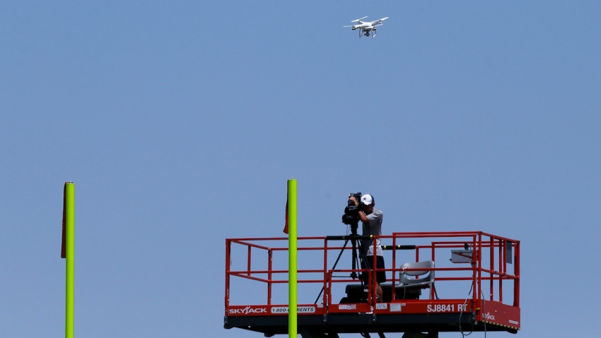 Cowboys Drone Football