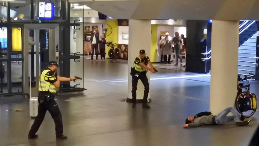 APTOPIX Netherlands Stabbing