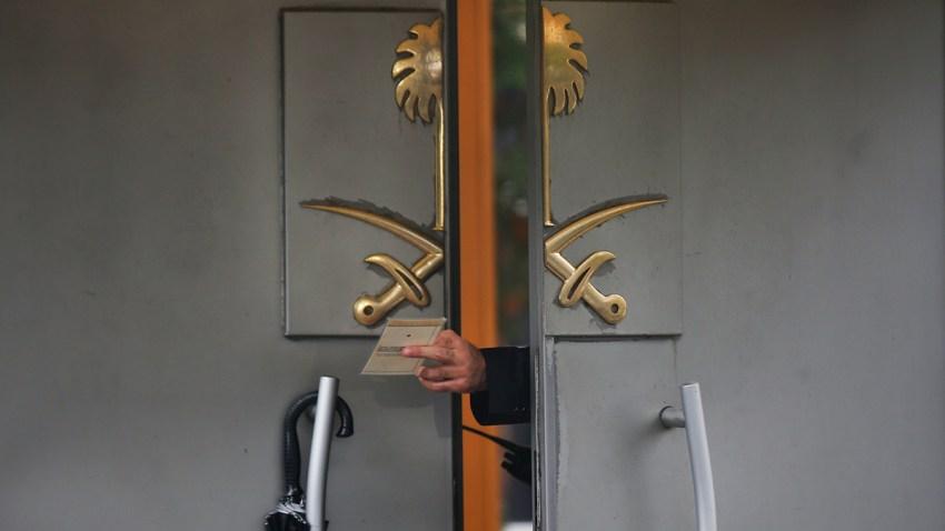 APTOPIX Turkey Saudi Arabia Missing Writer