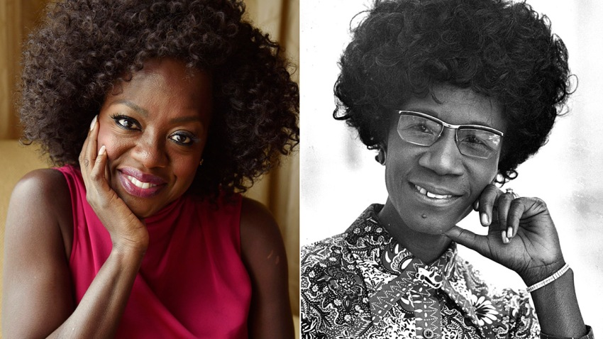 Film-Viola Davis-Shirley Chisholm Project