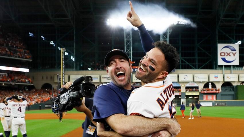 APTOPIX ALCS Yankees Astros Baseball