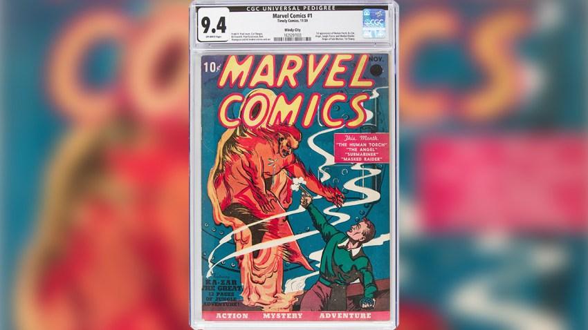 Marvel Comics Book Auction