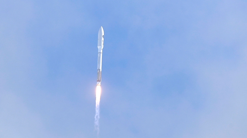 A United Launch Alliance Atlas V rocket lifts off