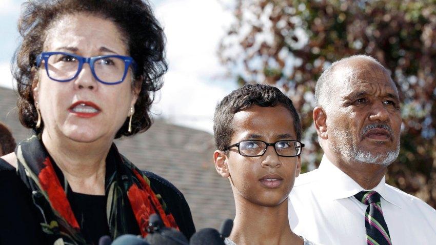 Texas Muslim Student Clock