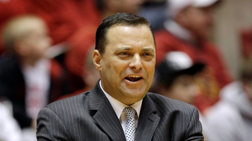 In this Feb. 22, 2012, file photo, Texas Tech coach Billy Gillispie watches during the first half of an NCAA college basketball game against Iowa State in Ames, Iowa.