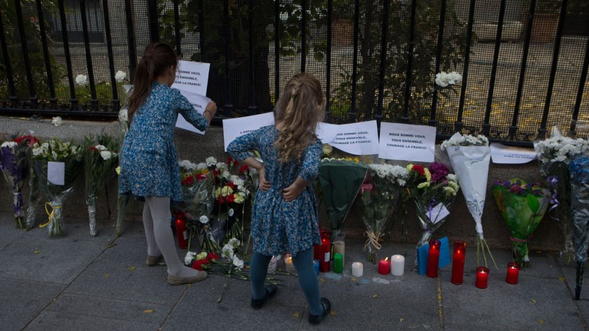 Spain France Paris Attacks