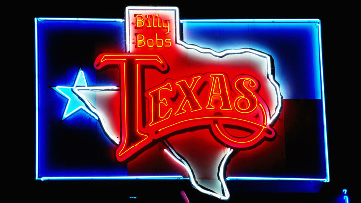 Billy Bob's Texas sign