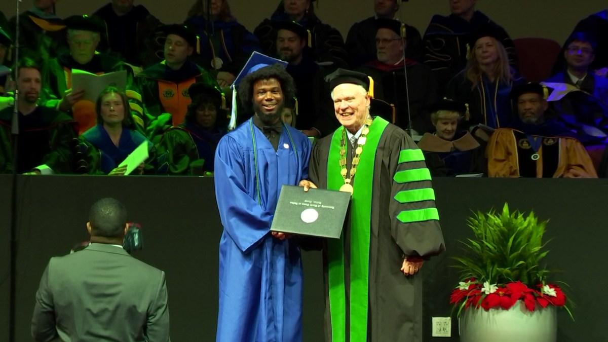 Dallas Native Overcomes Homelessness to Become a College Graduate