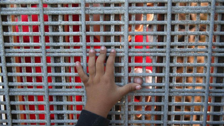 Child-Hand-Border-Fence