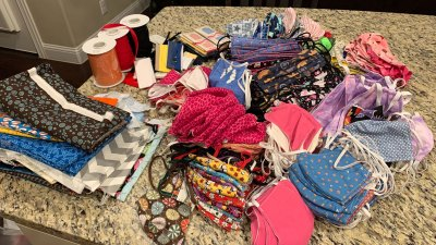 Argyle Woman, Neighbors Sew Over 2,000 Masks for Frontline Workers Battling COVID-19