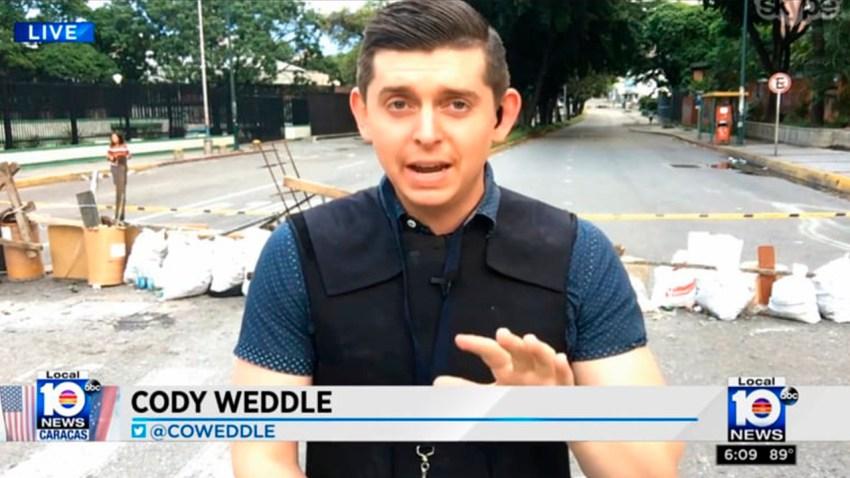 Cody Weddle Venezuela