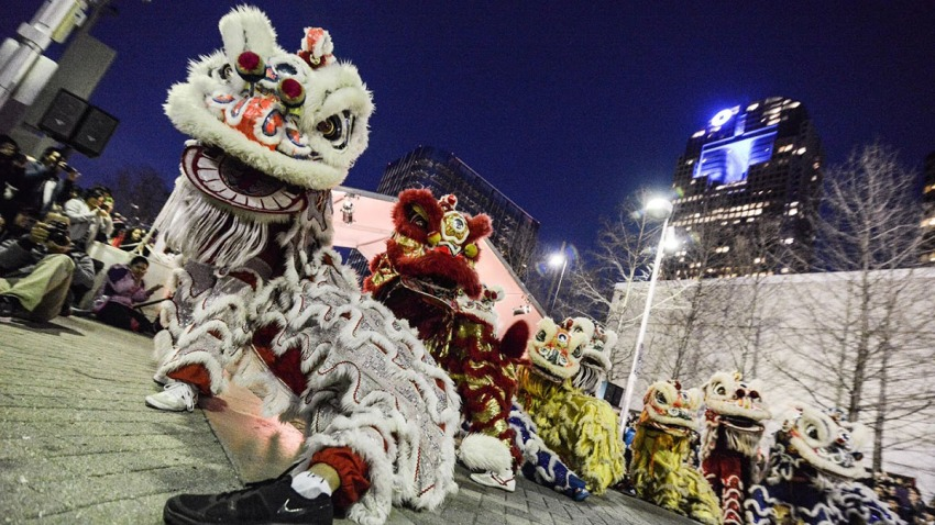 Crow_Chinese New Year 2015___Lion dance