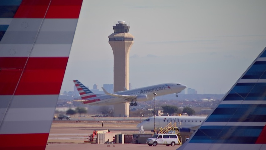 DFW Airport Control Tower 010719