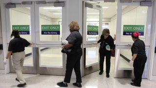 DFW Airport takes extra cleaning measures To protect against coronavirus.