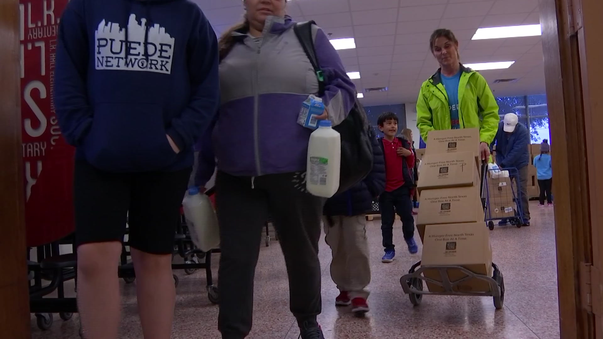 Fighting Hunger: School Pantry Helps Make the Grade