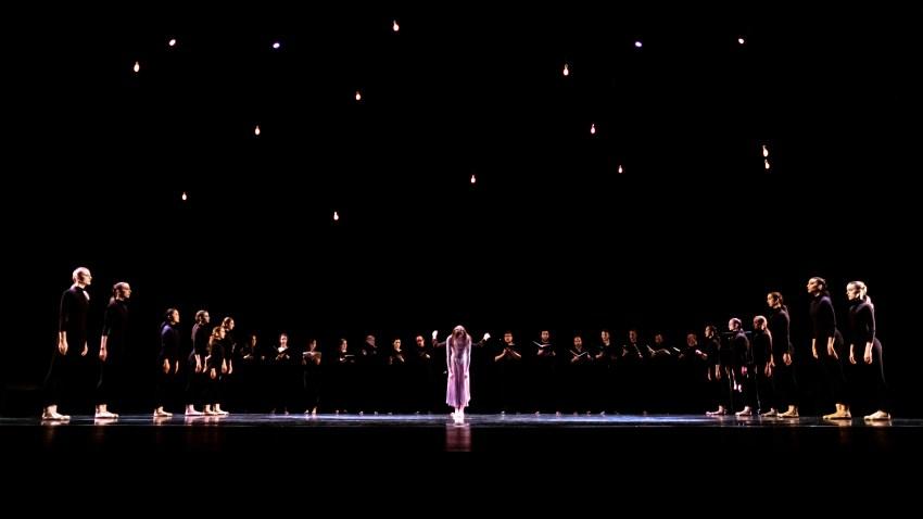 "Verdigris Ensemble and Avant Chamber Ballet's ""Match Girl Passion"""