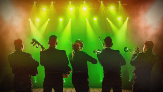 mariachi performers on stage