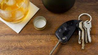 DUI DWI drunk driving generic keys drink alcohol
