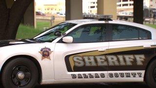 Dallas County sheriff's car