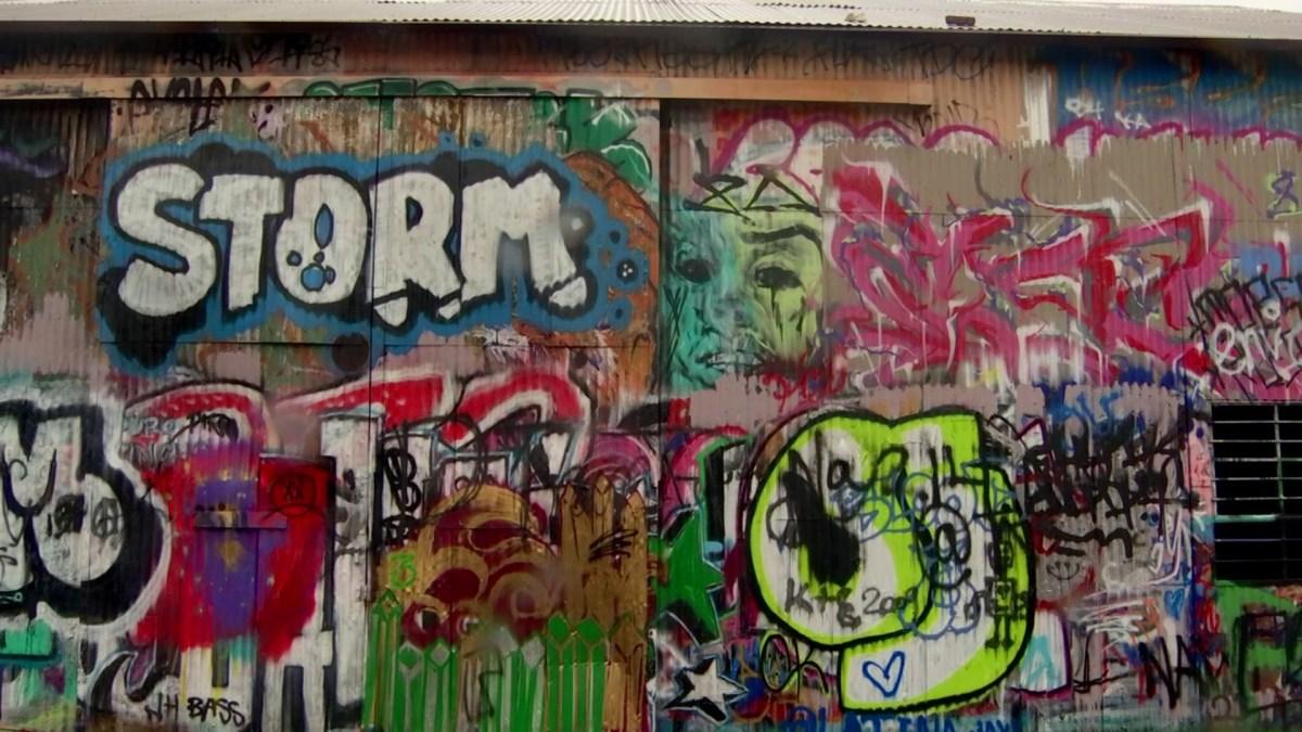 Surge in Dallas Graffiti