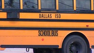 Dallas ISD School bus