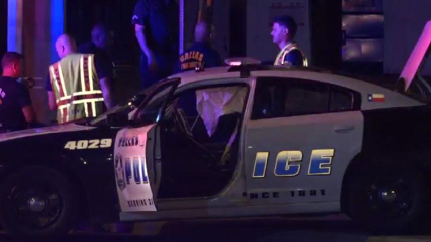 Dallas Police Crash