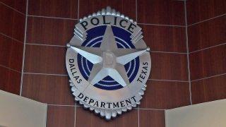 Dallas Police DPD logo