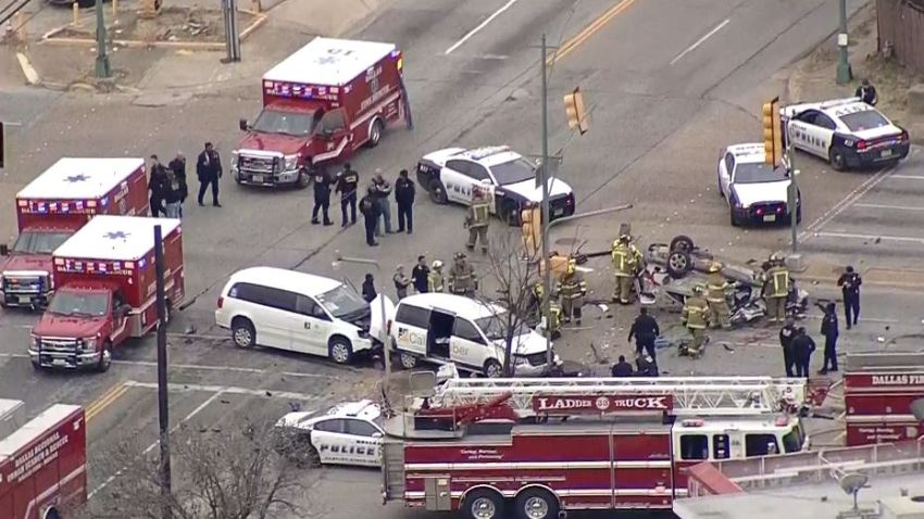 Dallas crash at Marsalis and Ann Arbor