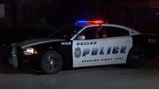 Dallas police patrulla