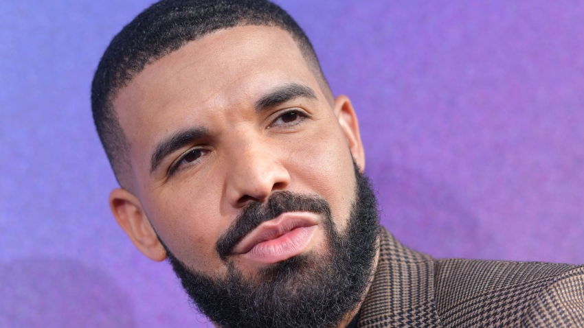"In this file photo, Executive Producer US rapper Drake attends the Los Angeles premiere of the new HBO series ""Euphoria"" at the Cinerama Dome Theatre in Hollywood on June 4, 2019."