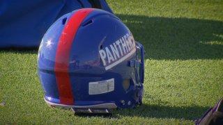 Duncanville Panthers Helmet